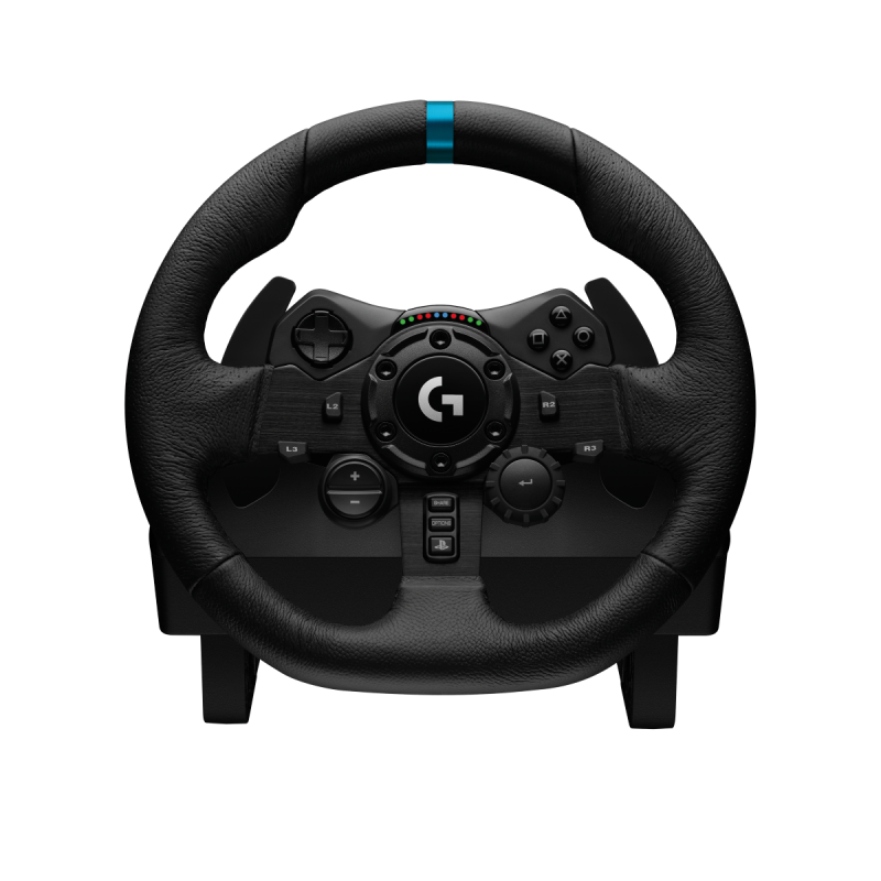 Logitech Trueforce 模擬賽車方向盤 G923 + Driving Force變速器套裝