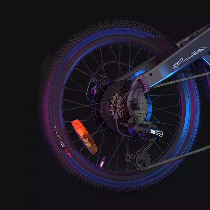 小米有品 - HIMO Z20 摺疊電動助力自行車 便攜電動車 [2色] 3-7天發貨