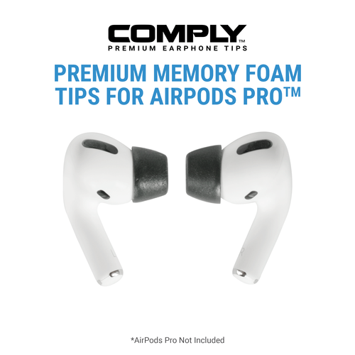Comply - Foam Tips 2.0 Compatible with AirPods™ Pro