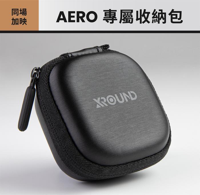 XROUND AERO 真無線藍牙耳機|世界最快!零感延遲技術 X 臨場環繞音效