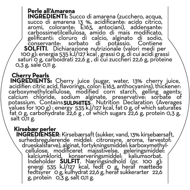 意大利Andrea Milano 摩德納黑醋 紫櫻桃紫珍珠 50g【市集世界 - 意大利市集】