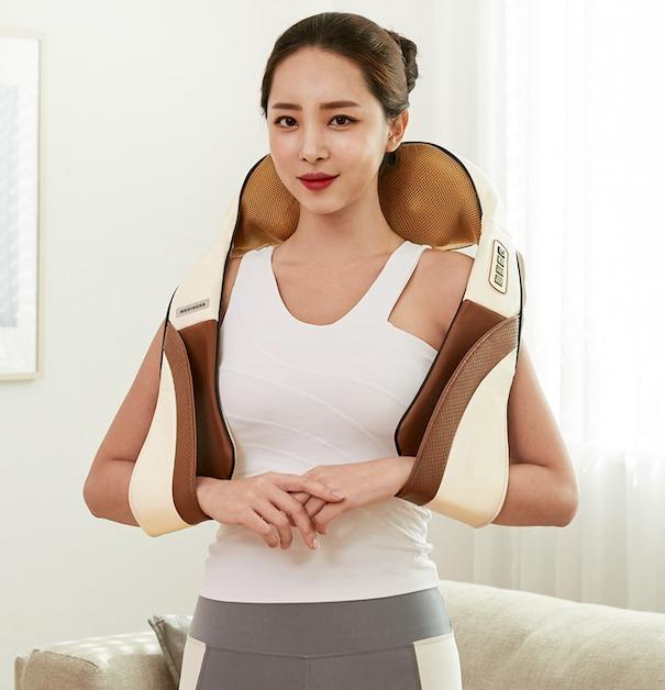 韓國 Mediness SHIATSU指壓肩頸按摩器