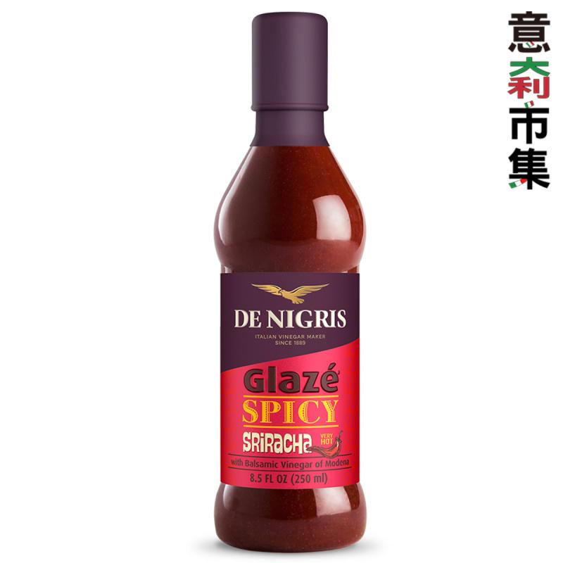 意大利De Nigris 摩德納陳醋珍味 泰式是拉差甜辣醬醋醬 250ml【市集世界 - 意大利市集】