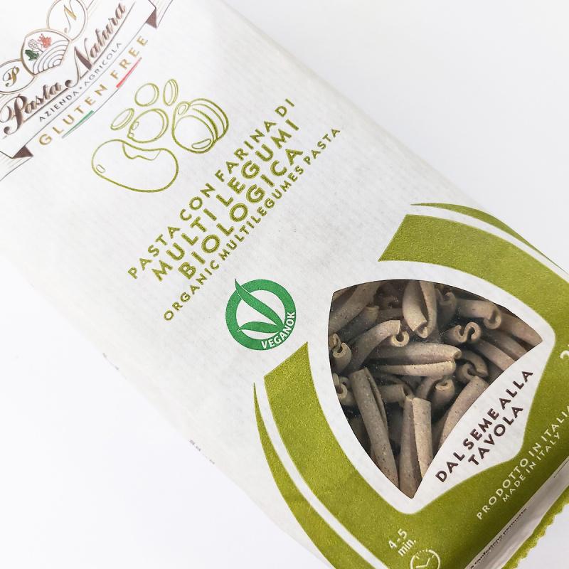 意大利Pasta Natura 有機低糖無鹽 鷹嘴豆紅扁豆四豆麻花意粉 250g【市集世界 - 意大利市集】