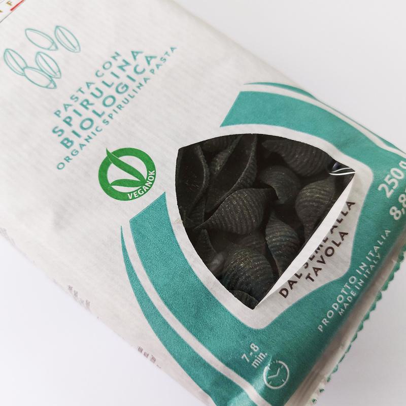 意大利Pasta Natura有機低糖低鹽 螺旋藻糙米貝殼粉 250g【市集世界 - 意大利市集】