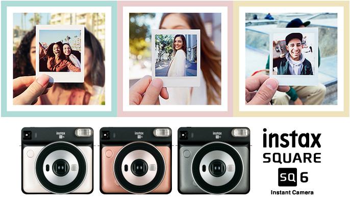 Fujifilm Instax 富士即影即有 SQUARE SQ6