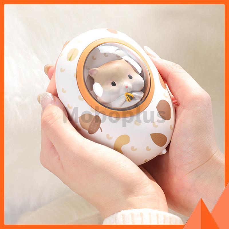 黃油貓 - 倉鼠太空艙充電寶暖手器