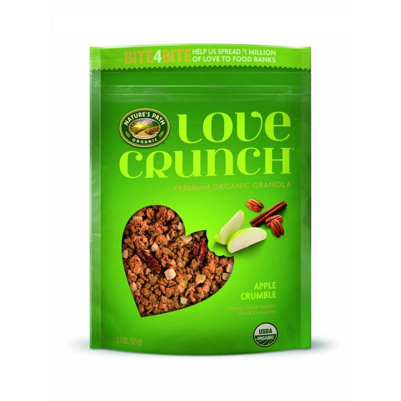 Nature's Path - Love Crunch® 優質有機蘋果弄碎格蘭諾拉麥片 325g