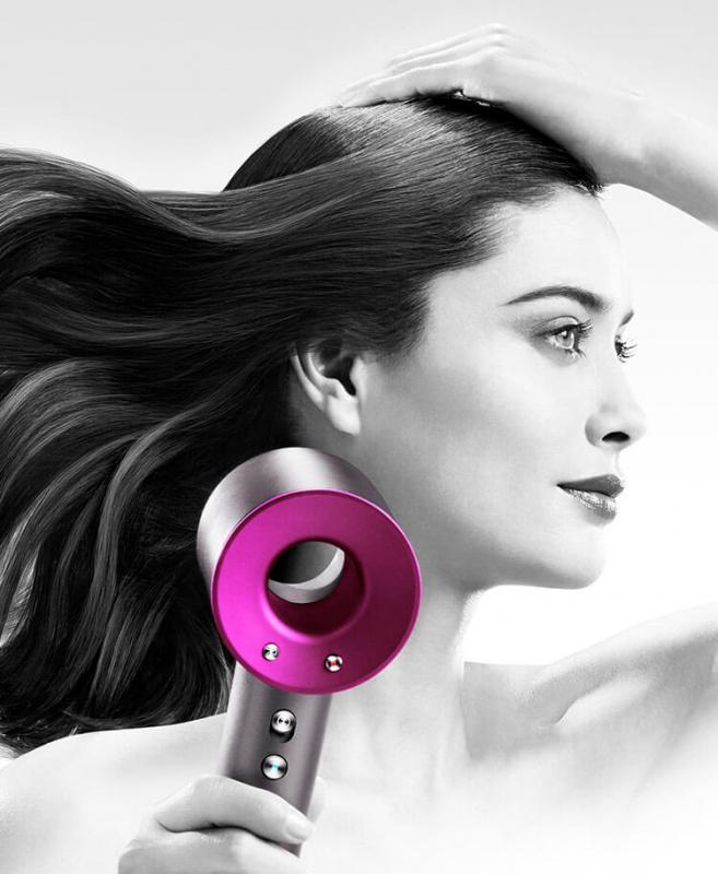 Dyson Supersonic™風筒套裝 (附銀鉑色專用袋) - 桃紅色 (限定版)