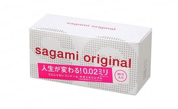 日本Sagami Original相模原創0.02安全套 (20片裝) 1盒
