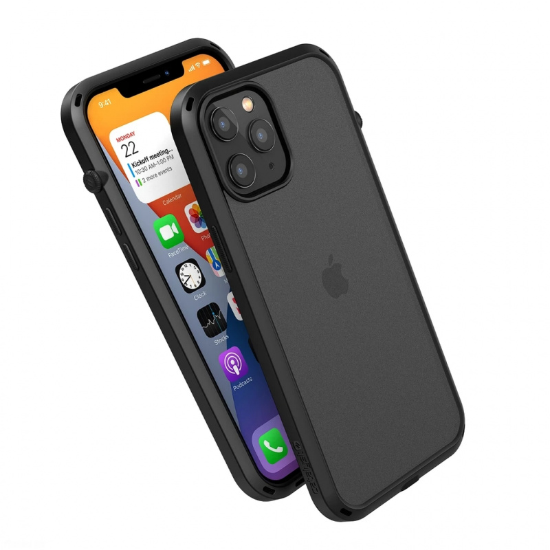 Catalyst Influence Series For iPhone 12/12 pro/12 pro max - Stealth Black/Clear