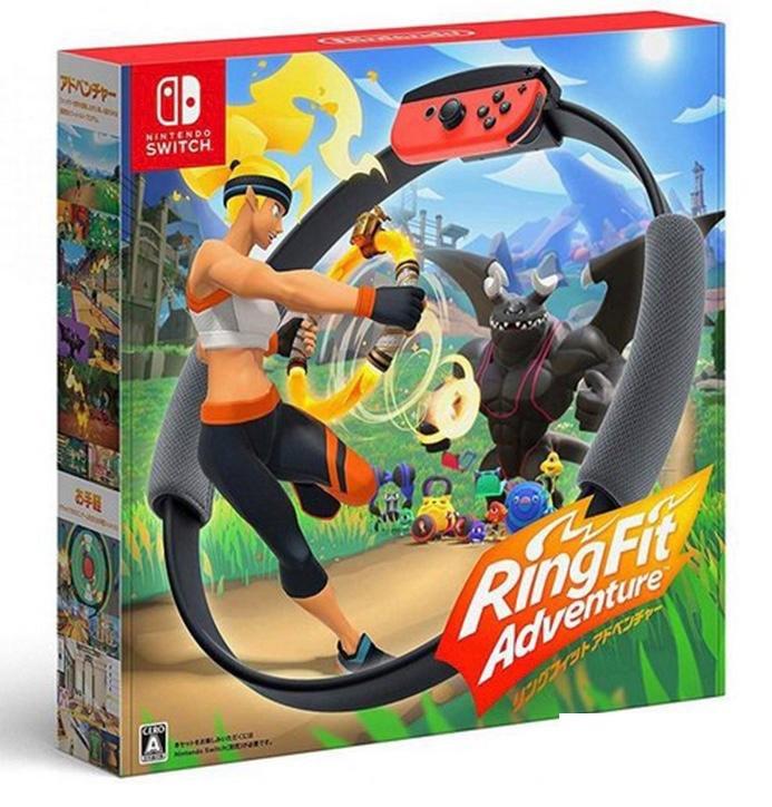 Nintendo NS RingFit Adventure 健身環大冒險