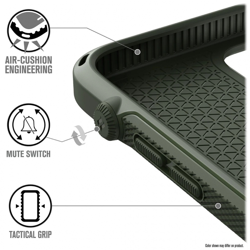 Catalyst Vibe Series For iPhone 12/12 pro/12 pro max - Stealth Black/Army Green