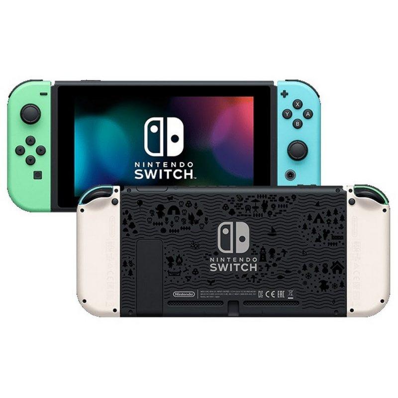 Nintendo Switch 集合啦!動物森友會特別版主機