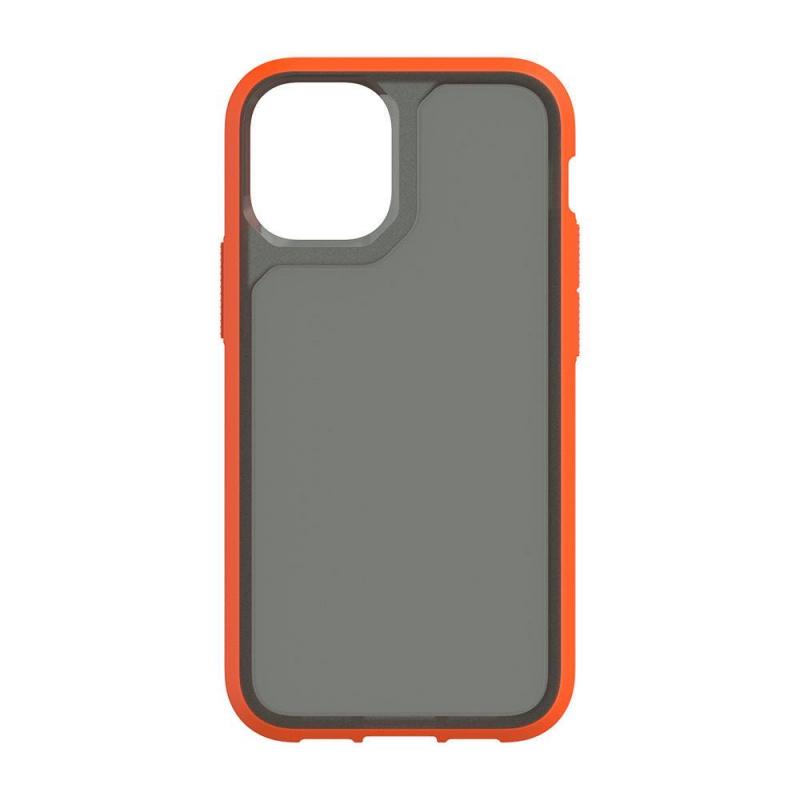 Griffin Survivor Strong for iPhone 12 & 12 Pro - Orange/Black/Clear/Navy