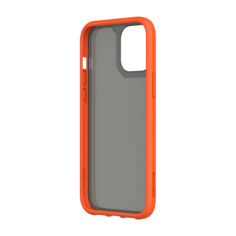 Griffin Survivor Strong for iPhone 12 Pro Max - Orange/Black/Navy/Clear
