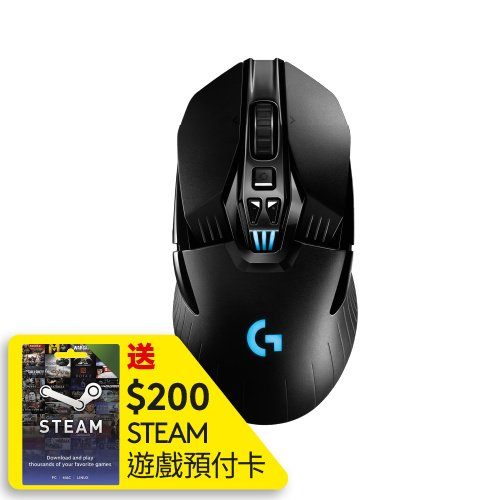 Logitech G903 LIGHTSPEED HERO 無線遊戲滑鼠(送$200 STEAM 遊戲預付卡)