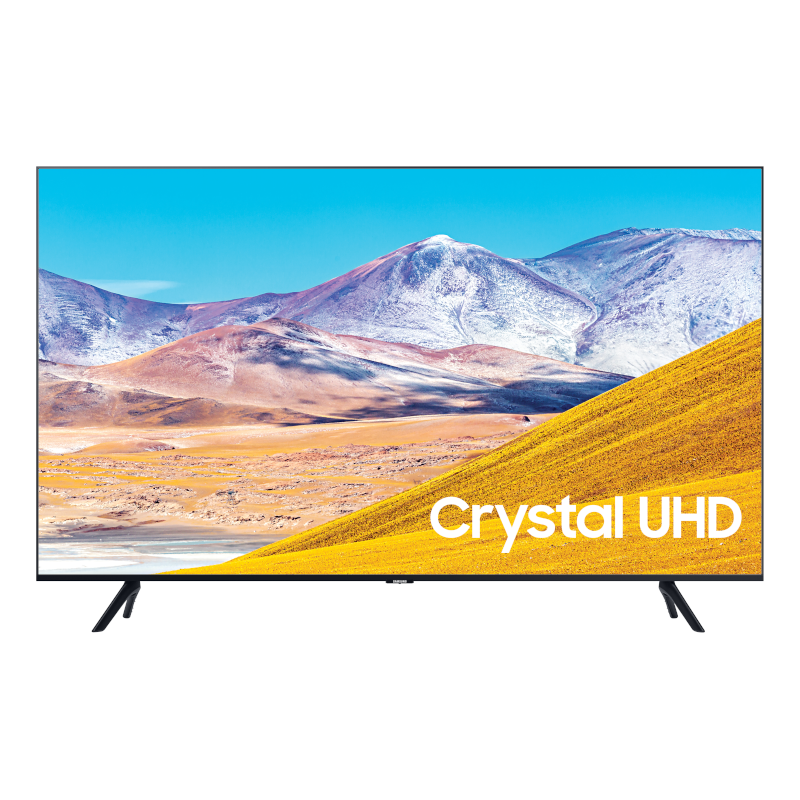 "Samsung 55"" TU8000 Crystal UHD 4K TV (2020) UA55TU8000JXZK"
