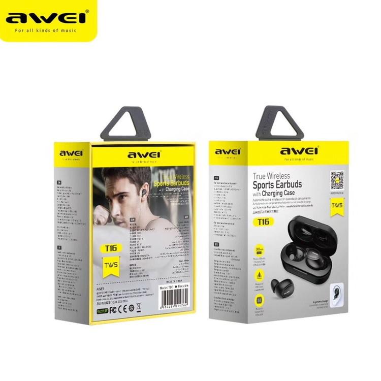 Awei TWS 真無線藍牙5.0耳機 T16[真無線耳機]