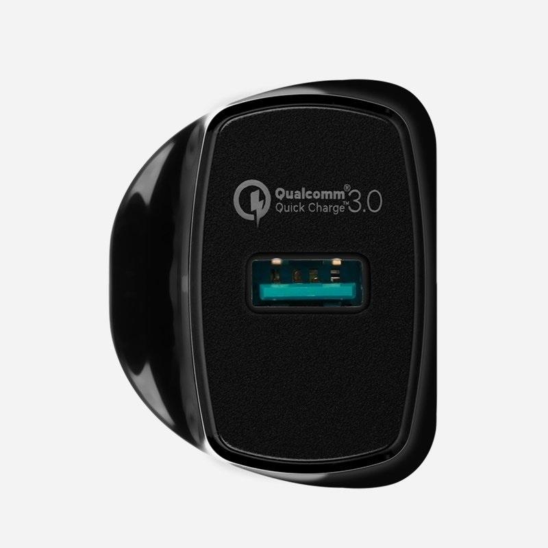 MOMAX UM1Q 1-Plug QC3.0 智能快速充電器 18W 【行貨保養】