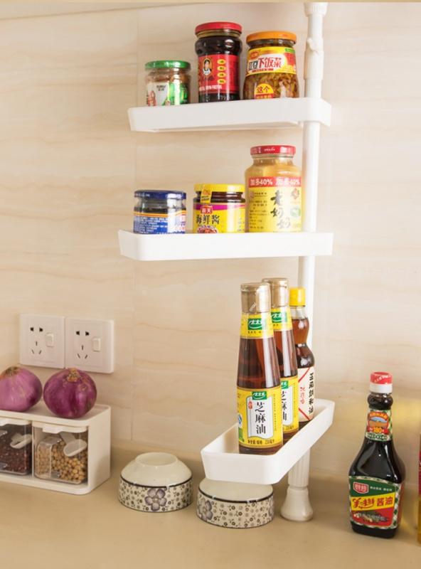 廚房醬油收納整理架