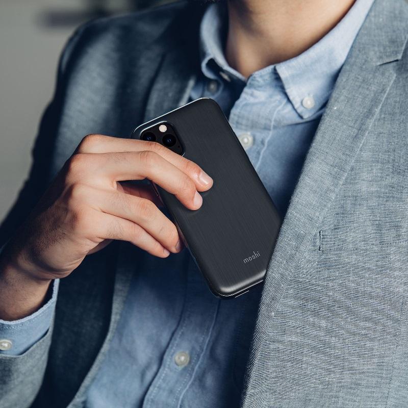 Moshi iGlaze for iPhone 11 Pro - Black 超薄時尚保護殼 【行貨保養】