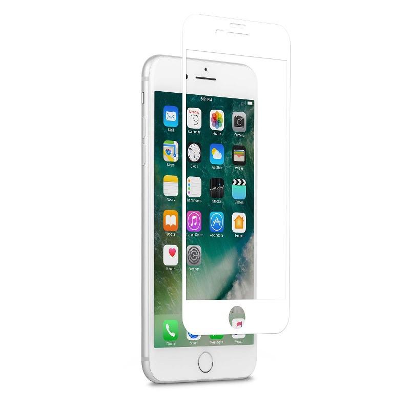 Moshi IonGlass 強化玻璃螢幕保護貼 For iPhone 7 Plus - White 【行貨保養】