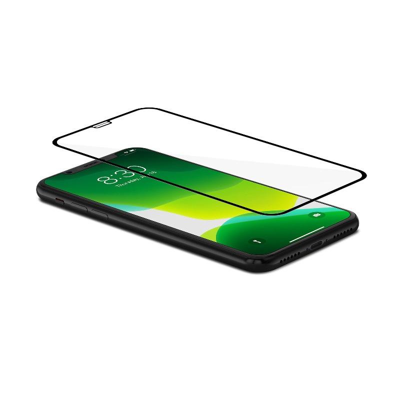 Moshi IonGlass 強化玻璃螢幕保護貼 for iPhone X - Black【行貨保養】