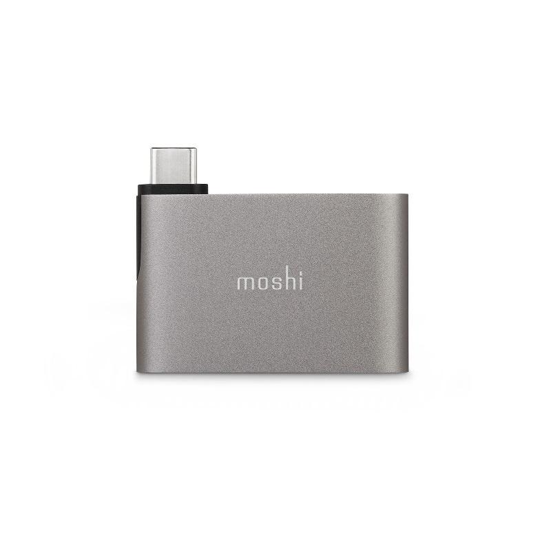 Moshi Moshi USB-C to USB-A 雙端口轉接器 【行貨保養】