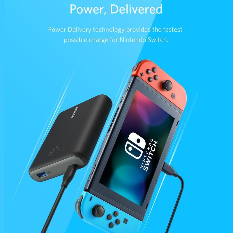 Anker PowerCore 13400 Nintendo Switch Edition 【行貨保養】