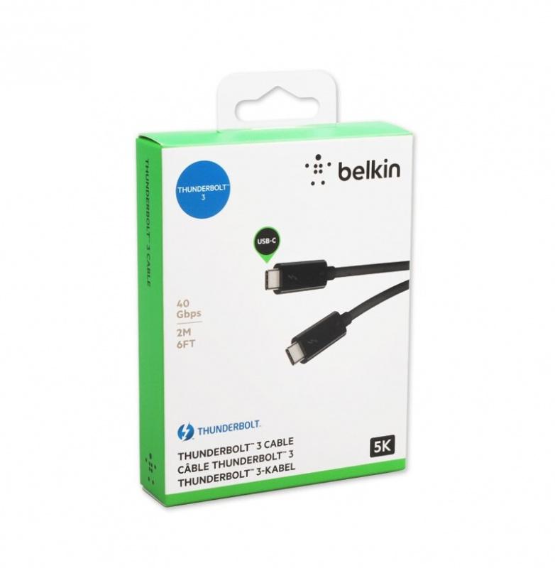 Belkin Thunderbolt 3 Cable 2m 【行貨保養】