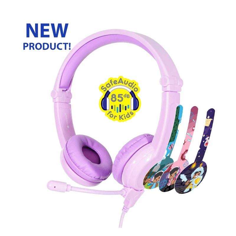 Buddyphones Galaxy Volume-Safe Headphones 【行貨保養】