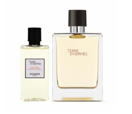 Hermes 愛馬仕 大地男士淡香水+沐浴凝露套裝