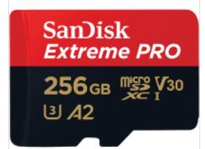 SanDisk Extreme Pro A2 256GB MicroSDXC 【行貨保養】