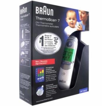 Braun 百靈牌 Thermoscan 7 IRT6520耳溫槍