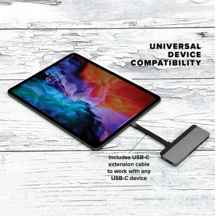 HyperDrive Duo 7-in-2 USB-C Hub for MacBook Pro / Air 【行貨保養】