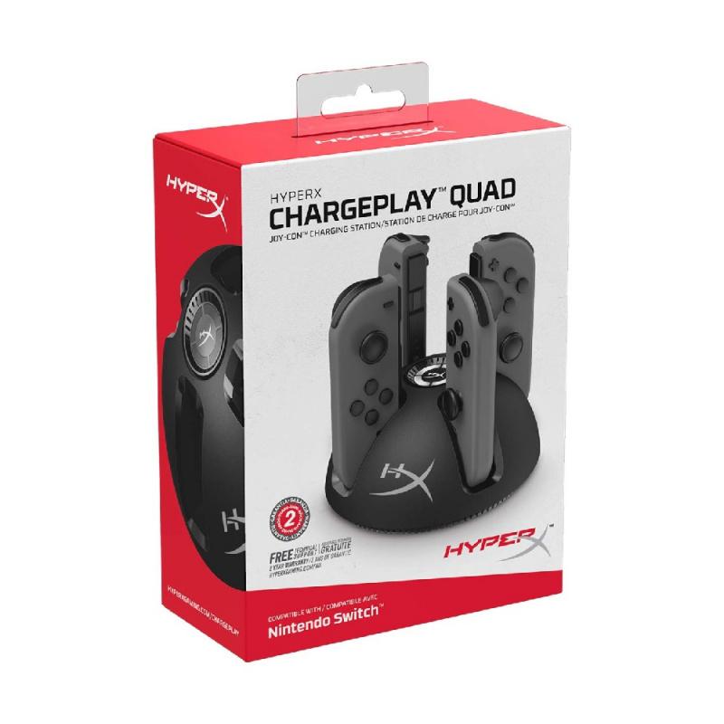 Kingston HyperX ChargePlay Quad Joy-Con Charging Station 【行貨保養】