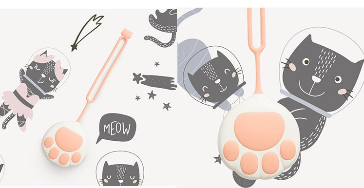 可愛貓咪暖手寶/移動電源
