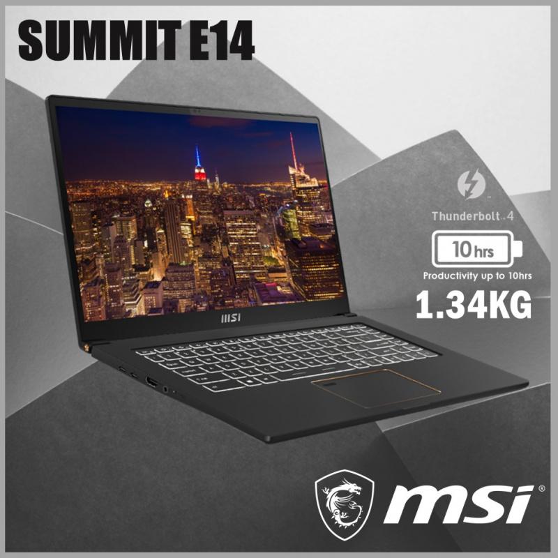 """MSI Summit E14 A11SCST 14"""" 巔峰商務筆記型電腦"""