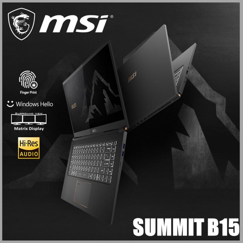 """MSI Summit B15 A11M 15.6"""" 巔峰商務筆記型電腦"""