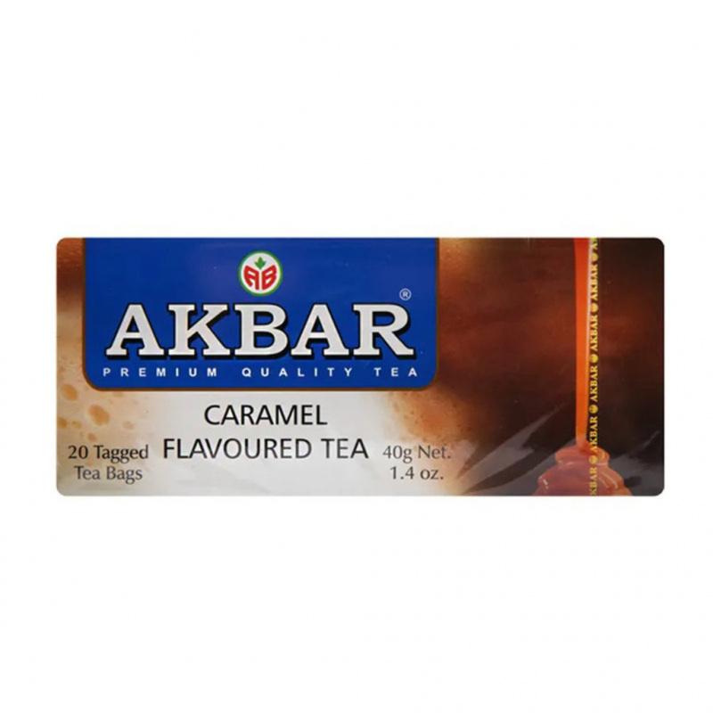 AKBAR 焦糖紅茶經濟裝 20 x 2g