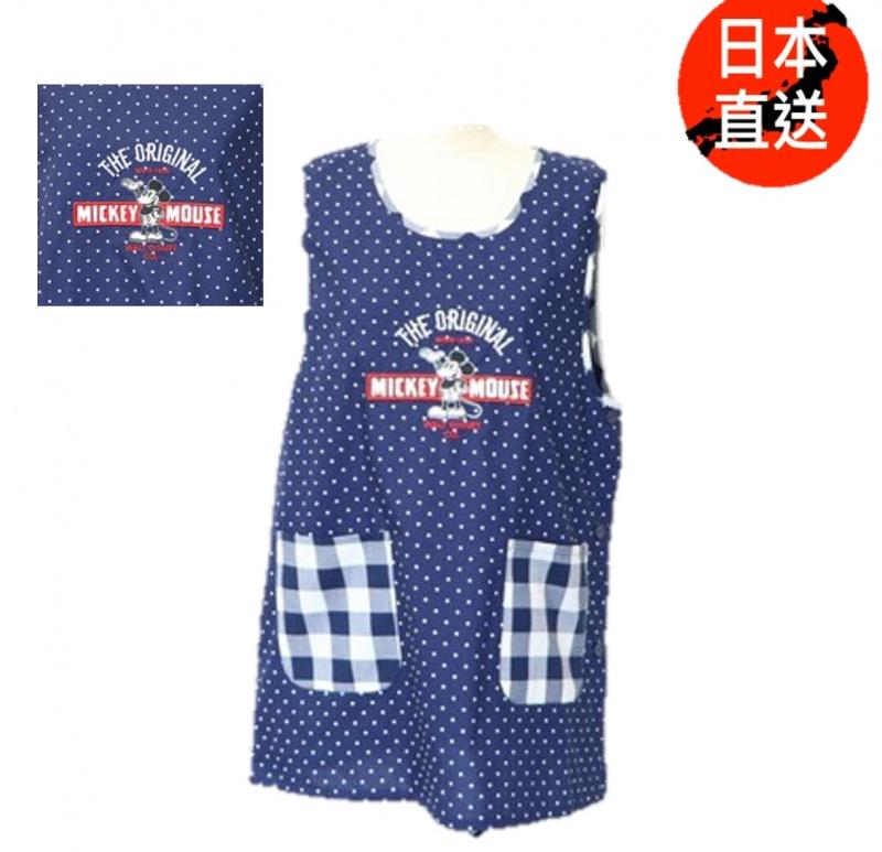 米奇/米妮/奇奇與蒂蒂/唐老鴨/史努比成人圍裙(日本直送)