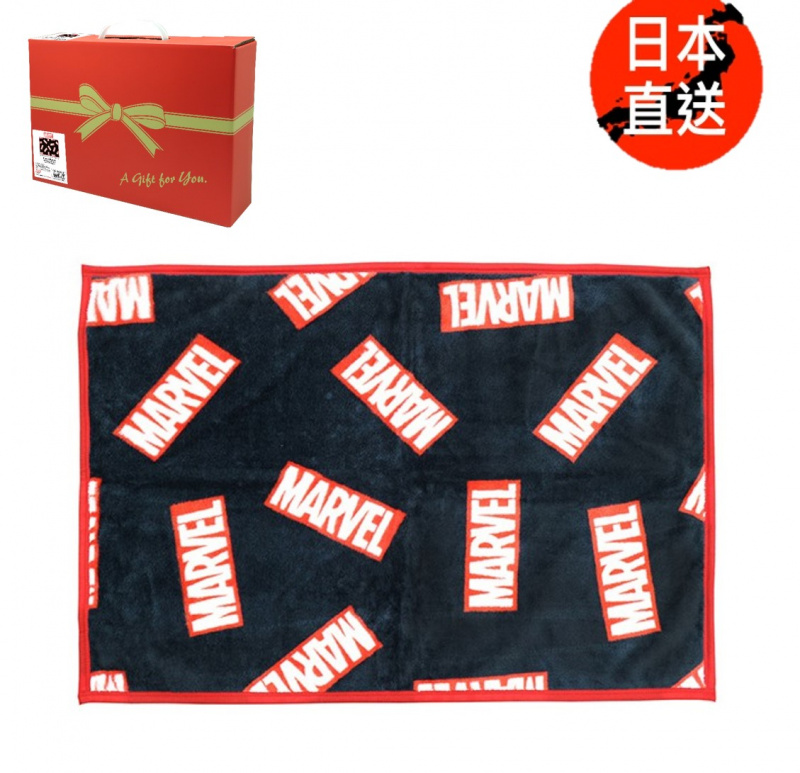 小熊維尼/魔雪奇緣/迷你兵團/Marvel/Sanrio毛絨毛毯禮盒裝(日本直送)