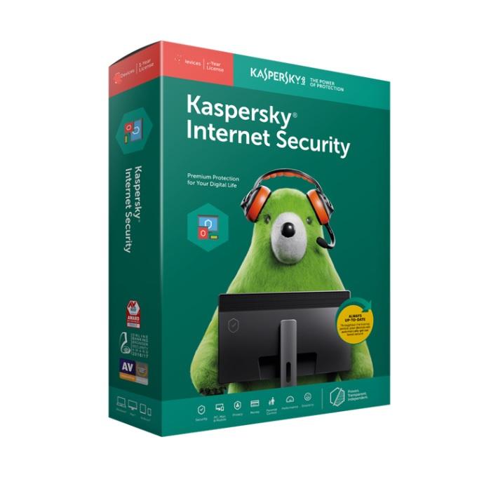 Kaspersky Internet Security - Multi-Device 多平台 1裝置 3年 (Windows + Mac + Android) 【行貨】