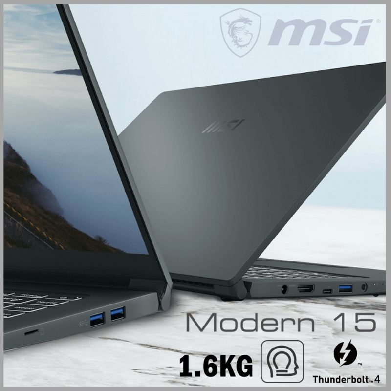 "MSI Modern 15 A11SB 15.6""專業創作筆記電腦 ( i7-1165G7 / MX450 )"