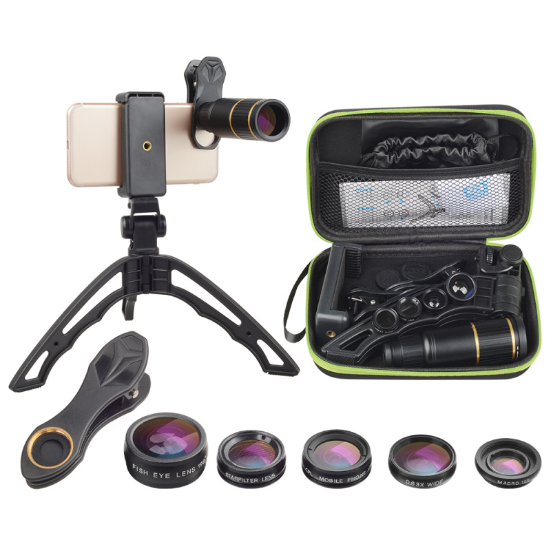 APEXEL APL-JS16XJJ04D5 6合1 手機鏡頭套裝
