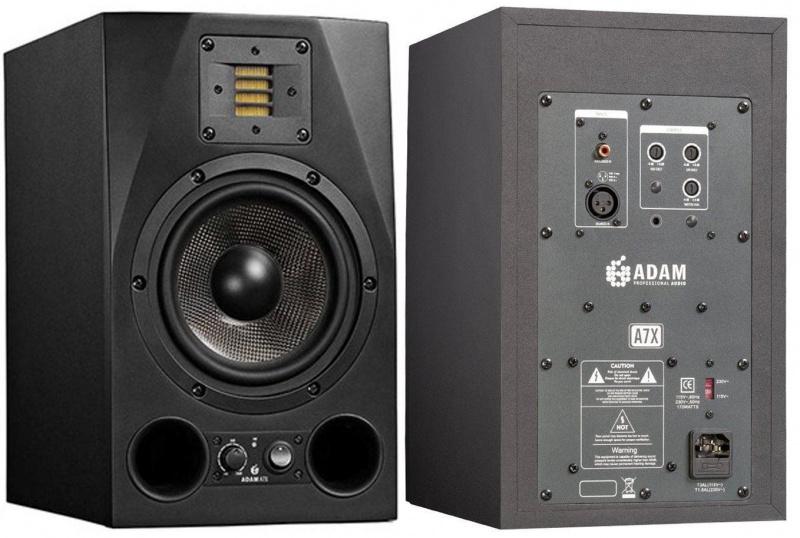 Adam A7X 監聽級有源音箱(1對)