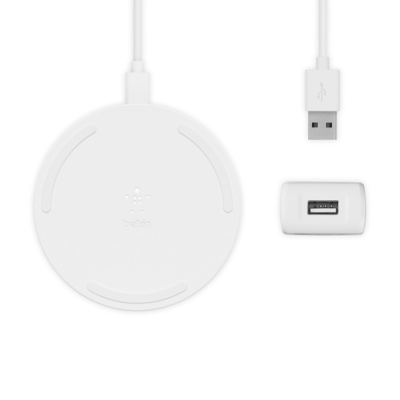 Belkin BOOST↑CHARGE™ 無線充電板 15W + QC™ 3.0 家用充電器 24W [WIA002my] [2色]