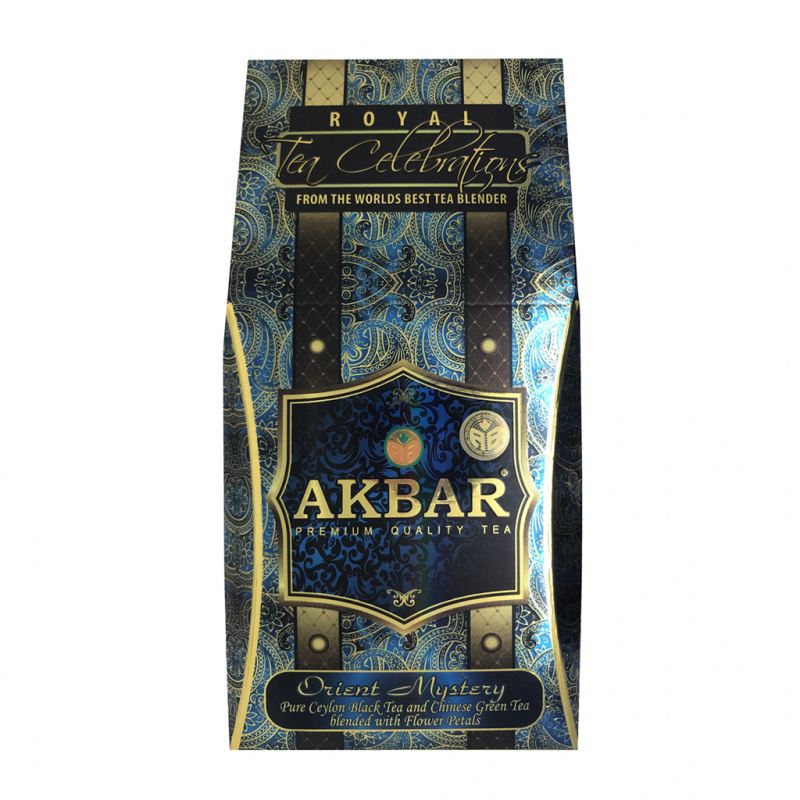 AKBAR 皇家茶系列 - 混合花茶100g (茉莉/玫瑰/萬壽菊混合花茶)