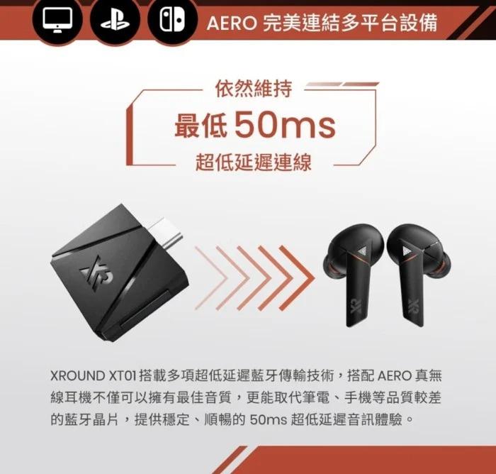 AERO 真無線藍牙耳機 世界最快!零感延遲技術 X 臨場環繞音效 📢📢預訂